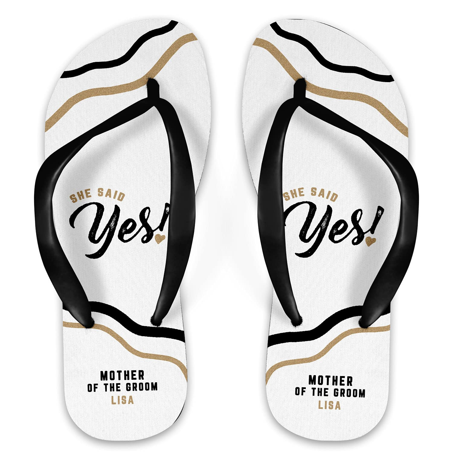 She Said Yes Mother of Flops Personalized 2021 spring and summer new Groom Flip Ranking TOP9