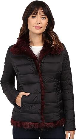 Reverse To Faux Fur Coat