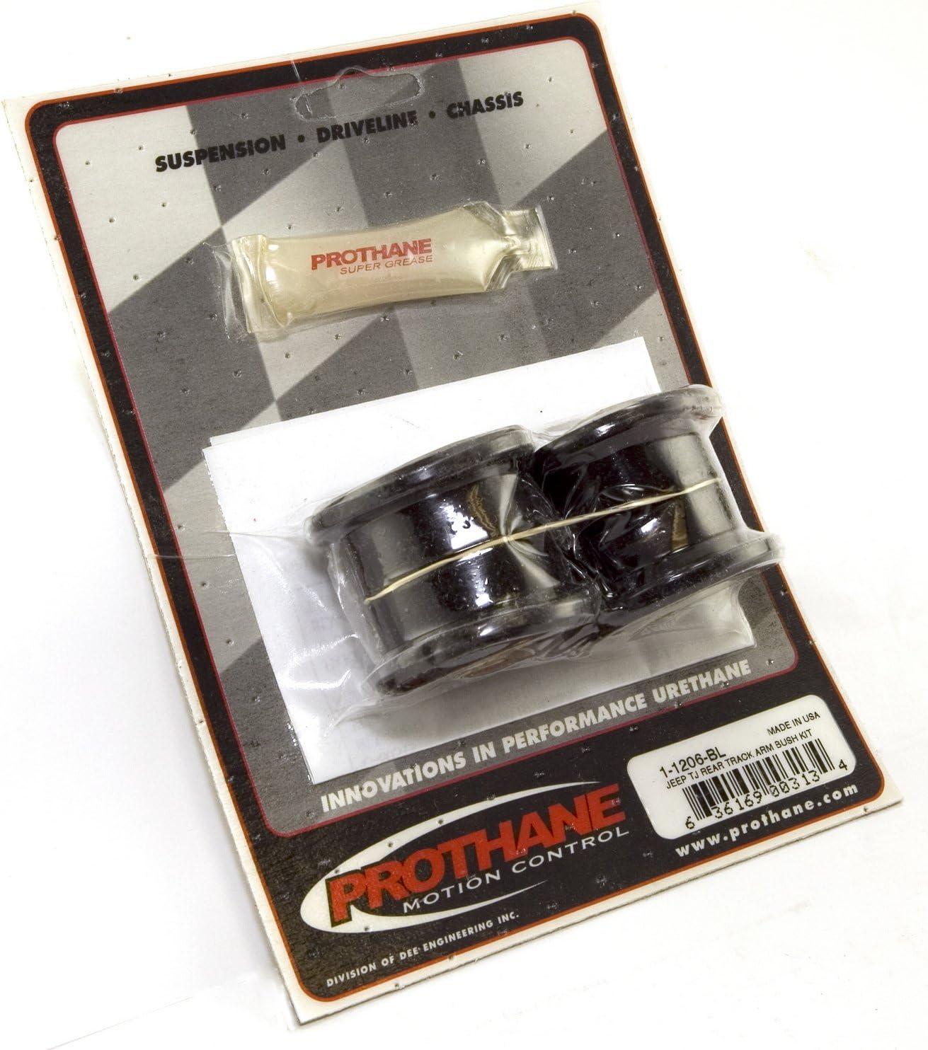 Rugged Ridge 1-1206BL Suspension Track Bar Bushing Kit, Rear, Bl