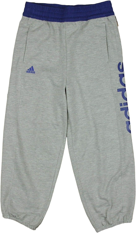 adidas Youth Big Girls Boyfriend Fleece Capri Pants Light Grey
