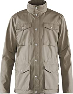 FJÄLLRÄVEN Men's Räven Lite JKT Folded Neck Hooded Jacket
