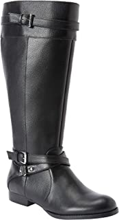 Women's Wide Width The Janis Wide Calf Leather Boot