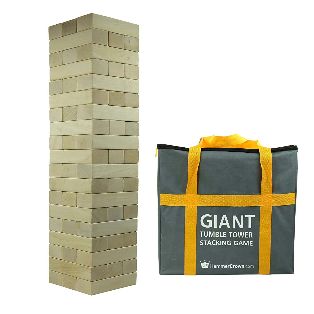Hammer Crown Giant Tumble Tower (Hardwood)