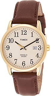 Timex Men's Easy Reader 38mm Leather Strap Watch TW2P75800
