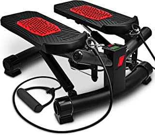 Sportstech Twister Stepper 2 en 1 Cuerdas de Resistencia -
