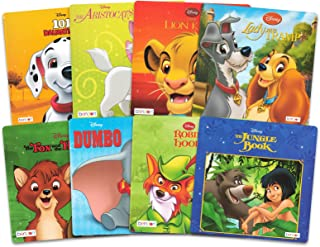 Disney Classic Storybook Collection for Toddlers Kids ~ 8 Disney Books Bundle Featuring Dumbo, Lion King, The Jungle Book,...