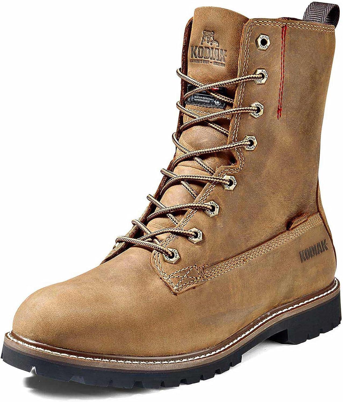 Kodiak Men's Great interest 8-Inch McKinney Soft Industrial Boot Great interest Waterproof Toe
