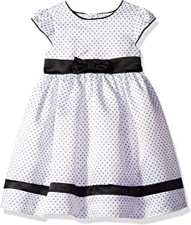 black and white heart dress