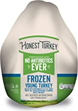 Honest Turkey Whole Turkey, 10-14 lbs., Frozen - Turkeys raised with No Antibiotics Ever