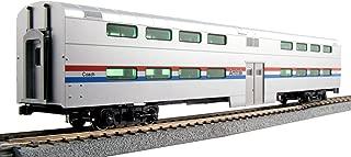 Kato USA Model Train Products Pullman Amtrak Phase III Bi-Level 4-Window Coach