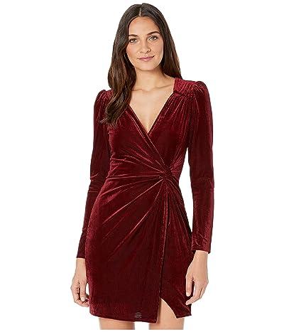ASTR the Label Lanita Dress (Merlot) Women