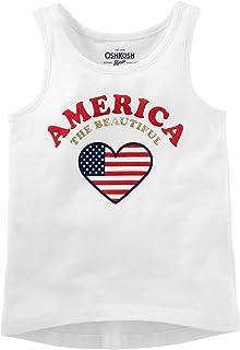 OshKosh B'gosh Big Girls USA Tee Shirt