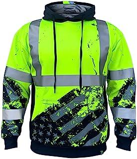SafetyShirtz SS360 American Grit Hoodie ANSI Class 3