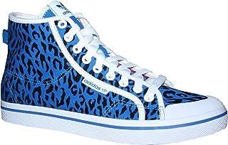 adidas Honey Mid W Damen Sneakers Canvas Leopard (36 23