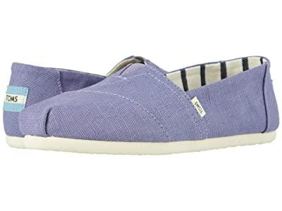 TOMS Venice Collection Alpargata (Dusky Purple Heritage Canvas) Women