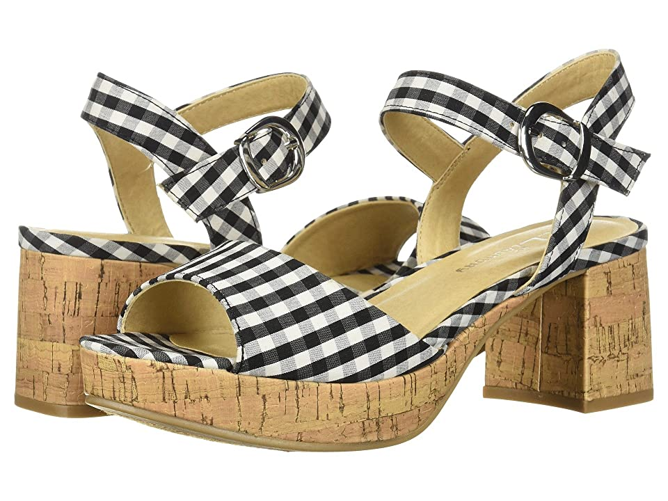 CL By Laundry Kensie (Black Gingham) High Heels