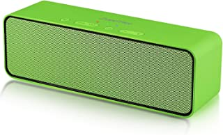 ZoeeTree S4 Wireless Bluetooth Speaker, Portable Stereo Subwoofer with HD Sound and Bass, Built-in Mic, Bluetooth 4.2, TF ...