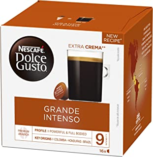Nescafé Dolce Gusto Grande Intenso - Café - 96 Capsules (Pack de 6 Boîtes x 16)