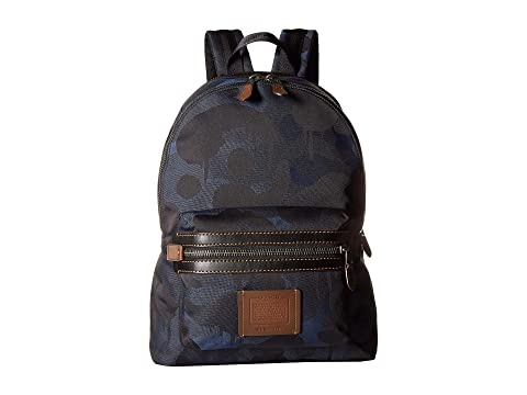 588e2edfba86 COACH Academy Backpack in Wild Beast Cordura at Zappos.com