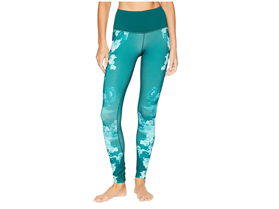 The North Face Motivation Printed High-Rise Tights (Botanical Garden Green Peony Print) Women