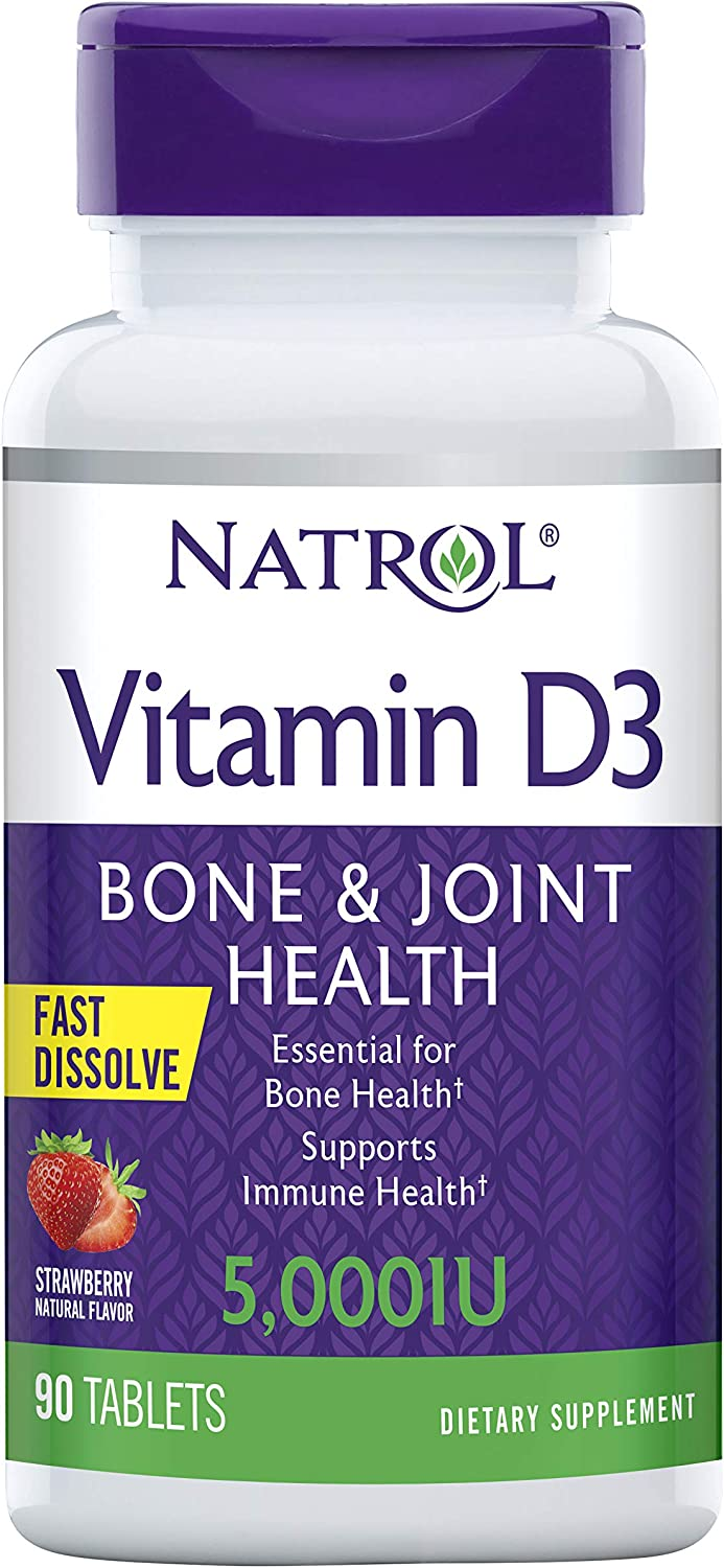 Natrol Vitamin D3 Cheap mail order shopping Fast Dissolve 5000 half I Your IU Capsules Support