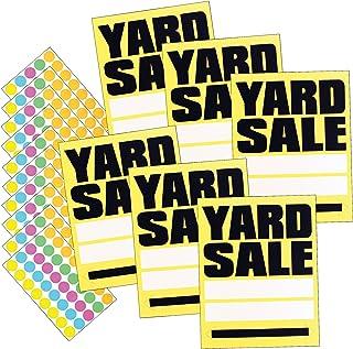 لافتة من هيد لاين – لافتات بيع مجانية، أحمر/أبيض، 8 × 12 بوصة، 6 قطع (5503) 11 x 14 Inches