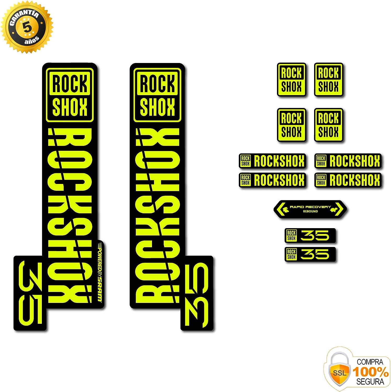 ROCK SHOX Fourche Stickers Autocollants vtt DOWN HILL MTB #b0140
