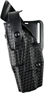 Safariland 6360 Level III ALS Retention Duty Holster, Mid-Ride, Black, STX Basketweave, Glock 17, 22