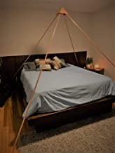 6 Foot Copper Meditation Pyramid OR 10 Foot Over The Bed Pyramid for Sleeping or Reiki