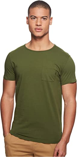Genuine Mens Shortsleeve Tee in Jersey Quality with Nylon Chest Pocket T-Shirt Scotch & Soda Perfect Cheap Price Great Deals Sale Online Countdown Package Cheap Online Buy Cheap 100% Guaranteed 6ccI3J