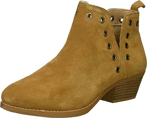 Skechers Woherren Lasso-Auger-Short Deco Eyelet Ankle Stiefel, tan, 6 M US
