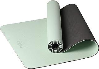 PIDO - Esterilla de yoga para fitness, 183 x 61 cm, ligera, antideslizante, con correa de transporte