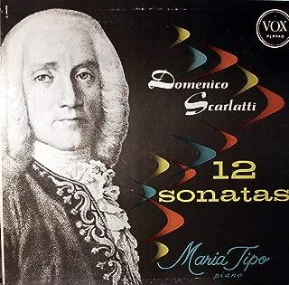 Domenico Scarlatti 12 Sonatas