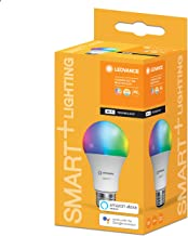 LEDVANCE AC258070055 Smart+ WiFi CLA60 9W E27 RGBW 230V LED Bulb Frosted Off White