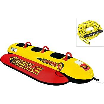 Towable Fun-Tube Boot MESLE Tube Formula mit 2 Personen Leine Wasser-Sport