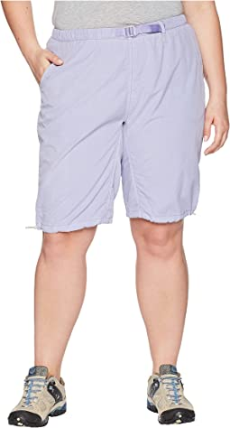 White Sierra Plus Size Hanalei Bermuda Short