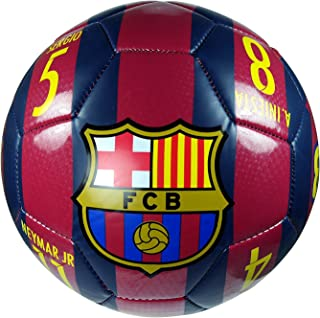 FC Barcelona Authentic Official Licensed Soccer Ball Size 4 - 02-5
