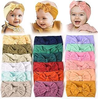 18PCS Baby Nylon Headbands Hairbands Hair Bow Elastics...