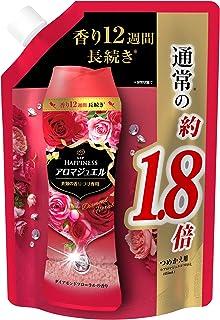 レノア ハピネス アロマジュエル ビーズ 衣類の香りづけ専用 ダイアモンドフローラル 詰め替え 約1.8倍(805mL/482g)