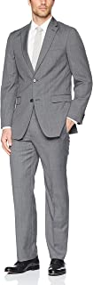 Men's 2 Button Side Vented Suit with a Notch Lapel