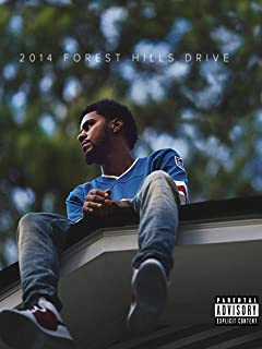 LLp J. Cole Poster Size 18-Inches by 24-Inches Wall Poster Print