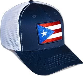 International Tie Puerto Rico Flag Hat