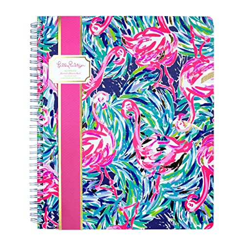 Lilly Pulitzer Large Notebook (Flamenco Beach)