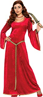 Bristol Novelty AC576 Ruby Sorceress Dress Medieval, Size 10-14