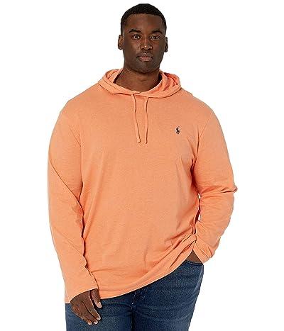 Polo Ralph Lauren Big & Tall Big Tall Cotton Jersey Hooded T-Shirt (Sunset Orange Heather) Men