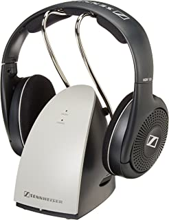Sennheiser RS120 II On-Ear Wireless RF Headphones with Charging Cradle