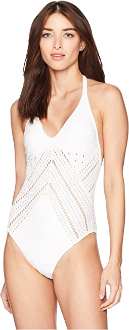 Clarissa Plunge One-Piece