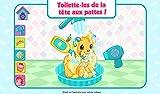 Charlotte aux Fraises et le Palais de Chiots - Jeu de Toilettage et d habillage des animaux de compagnie pour les enfants