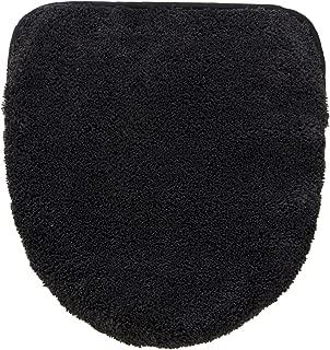 オカ(OKA) 乾度良好Dナチュレ トイレフタカバー 5. ブラック ドレニモタイプ(O・U・洗浄暖房型兼用) (吸水 速乾 洗えて清潔ドレニモ使える兼用タイプ)