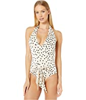 Stella McCartney - Polka Dot Print One-Piece